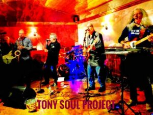 The Tony Soul Project performing