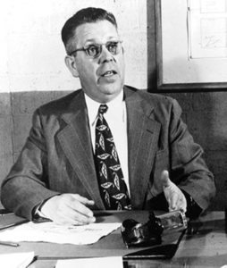 Percy Spencer, the Raytheon engineer credited with inventing the microwave oven