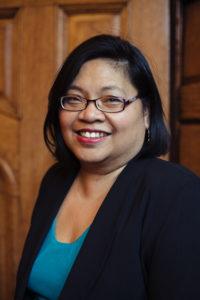 Liz Aguilo, Director of Paine Senior Services in Cambridge