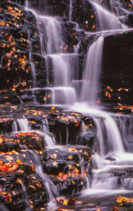 Water cascades over Whitmore Falls in Western Massachusetts. (Photo/Todd Mathieson)