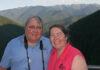 Assabet Valley Camera Club coupleTodd and Maureen Mathieson at Hurricane Ridge in Washington State.