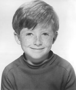 Child actor Will McMillan's headshot at age six