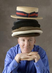 Will McMillan wears many hats – figuratively and literally.   Photo/Gretje Ferguson