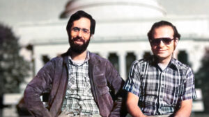 Dan Bricklin and Bob Frankston, creators of VisiCalc, the first computerized spreadsheet
