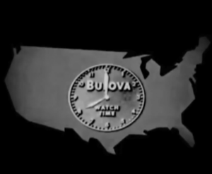 In July of 1941, Bulova was the first company to run a television commercial. It aired before a baseball game between the Brooklyn Dodgers and the Philadelphia Phillies.