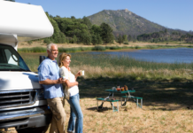 With a bit of planning, most older individuals can remain active and safe in their RV Photo by Shutterstock