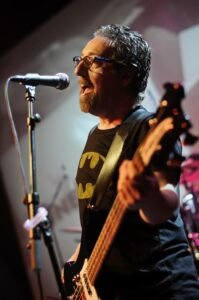Stephen Beccia plays bass with the pop-rock band One Eleven. Photo/submitted