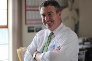 Tom McAuliffe II, owner and operator of MyFM Media.
