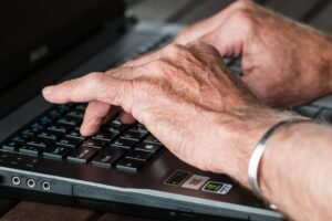 Older adults are increasingly becoming victims of Internet fraud, also known as cyber scams.