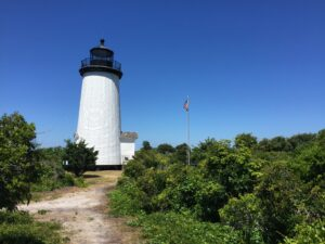 The Cape Poge Lighthouse, which dates back over 200 years, offers three daily tours. Photo/The Trustees of Reservations