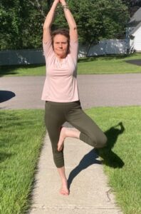 When Marsha Mancuso fell in love with yoga, she never dreamed that it would lead to teaching yoga on a local cable channel.