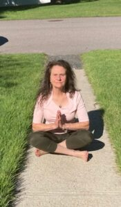 For Marsha Mancuso, a moment in the lotus position is always a great idea.