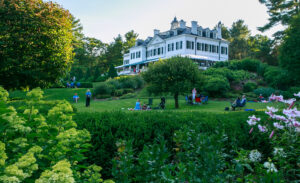 The Mount, author Edith Wharton's Lenox estate, was completed in 1902. Photo/Sarah Kenyon