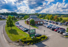 DCU (Digital Federal Credit Union), is a well-known Massachusetts-based credit union, headquartered in Marlborough. Pictured is the Solomon Pond branch in that city. Photo/Submitted