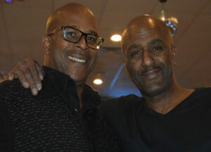Lance (left) and Robert Williams, the lead singers of the Perfect Example Show Band. Photos/submitted.