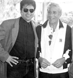 Cha-Chi Loprete and Tony Bennett