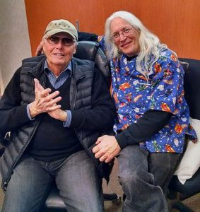 "TV's ""Batman"" star Adam West and Gary Sohmers Photos/submitted"