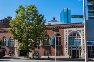 The Boston Center for the Arts in Boston's South End neighborhood