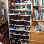 Shoes organized