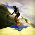 Flutie enjoys his latest hobby, surfing. Photo/submitted