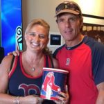 Doug and Laurie Flutie at a recent Red Sox game Photo/submitted