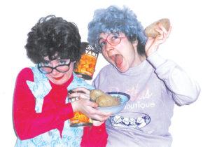 "Dorothy Dwyer and Margaret Ann Brady in ""The Mrs. Potato Head Show"""