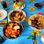 Traditional meze servings