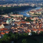 An aerial view of Prague Photo/submitted