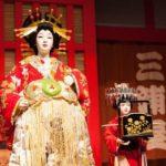 Kabuki performers exhibit, Edo Museum, Tokyo