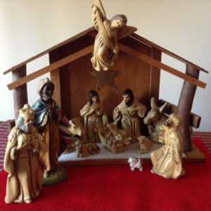 This humble crèche – our crèche – holds precious memories.