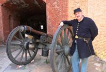 Fort Delaware reeneactor