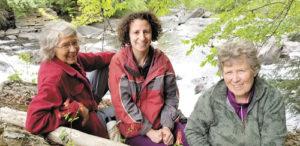 (l to r) Debra Weisenstein, Debbie Kershner, and Bonna Weiler