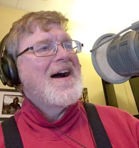 """Nick Noble hosts """"Folk Revival"""" at the WICN studio in Worcester"""